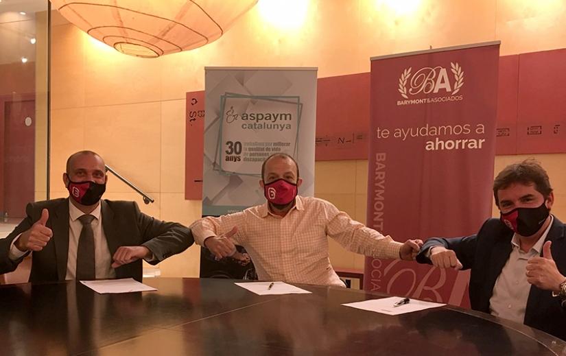 Barymont y ASPAYM unidos para llevar el bienestar económico a las personas con lesión medular