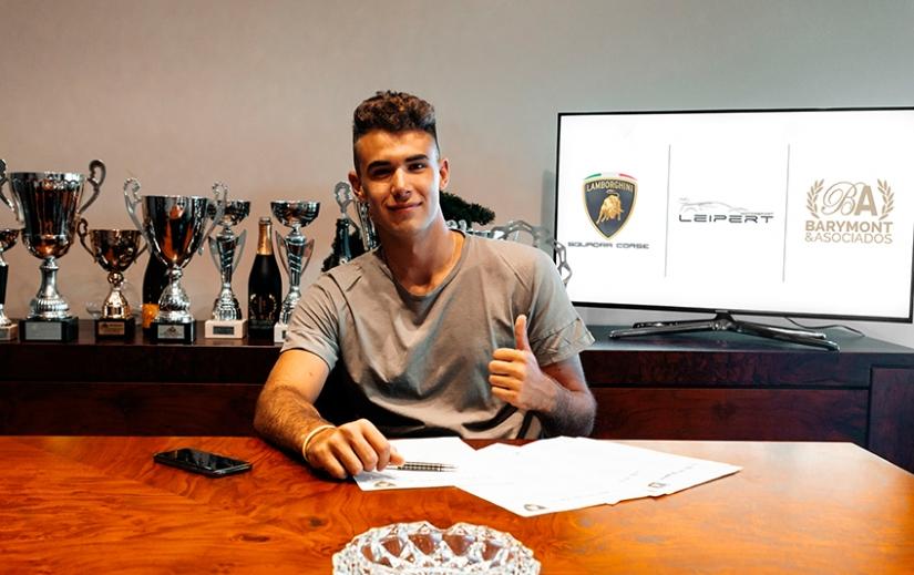 Barymont apoyará al joven piloto, Guillem Pujeu, durante la temporada 2020