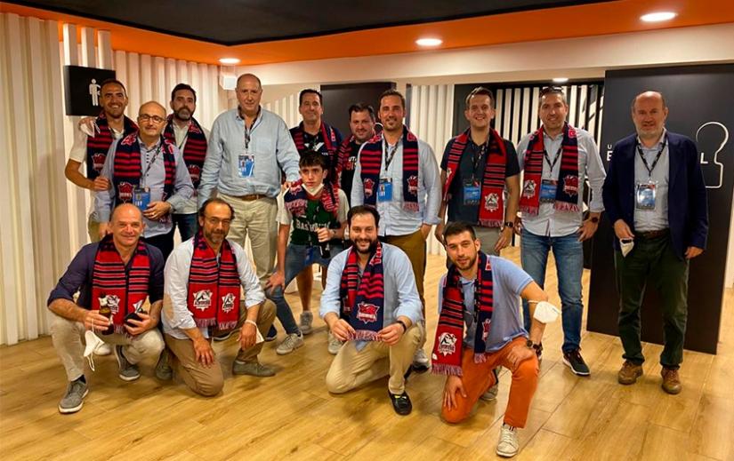 Barymont se suma a las muestras de alegría tras la victoria del Baskonia en la Liga ACB-Endesa