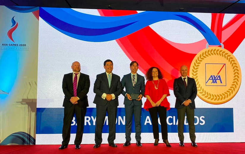 Bárymont es premiada en la Convención Nacional de los Territorios de AXA