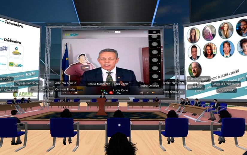 Emilio Montaraz anima a vencer el miedo para afrontar nuevos retos en el Congreso de la AEMME